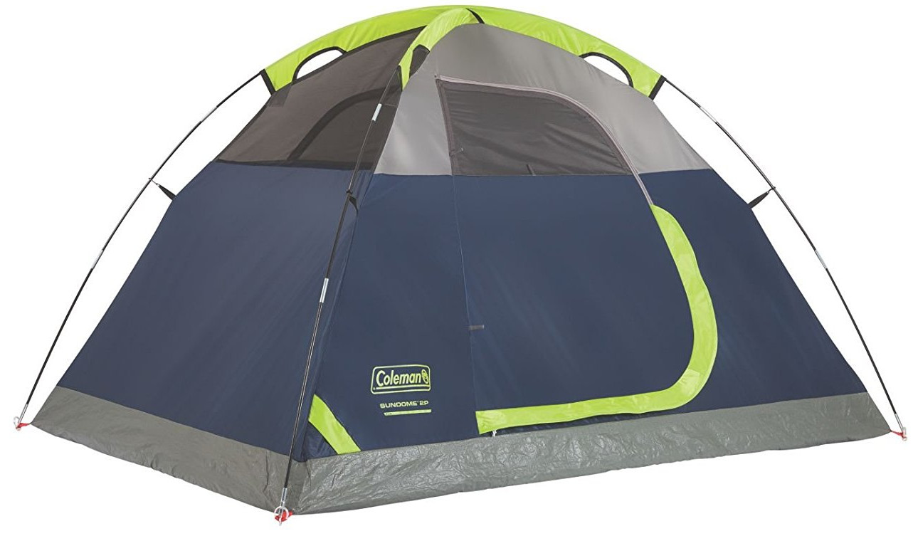 Coleman 2-Person Sundome 2 Person Tent (Green and Navy color options)  sc 1 st  Geek Travellers & 10 Best travel backpacking tents under 50 dollar